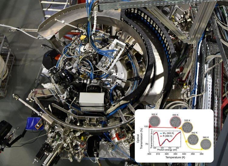 INSULATOR METAL TRANSITION AT THE NANOSCALE - At the MaReS endstation of BOREAS beamline